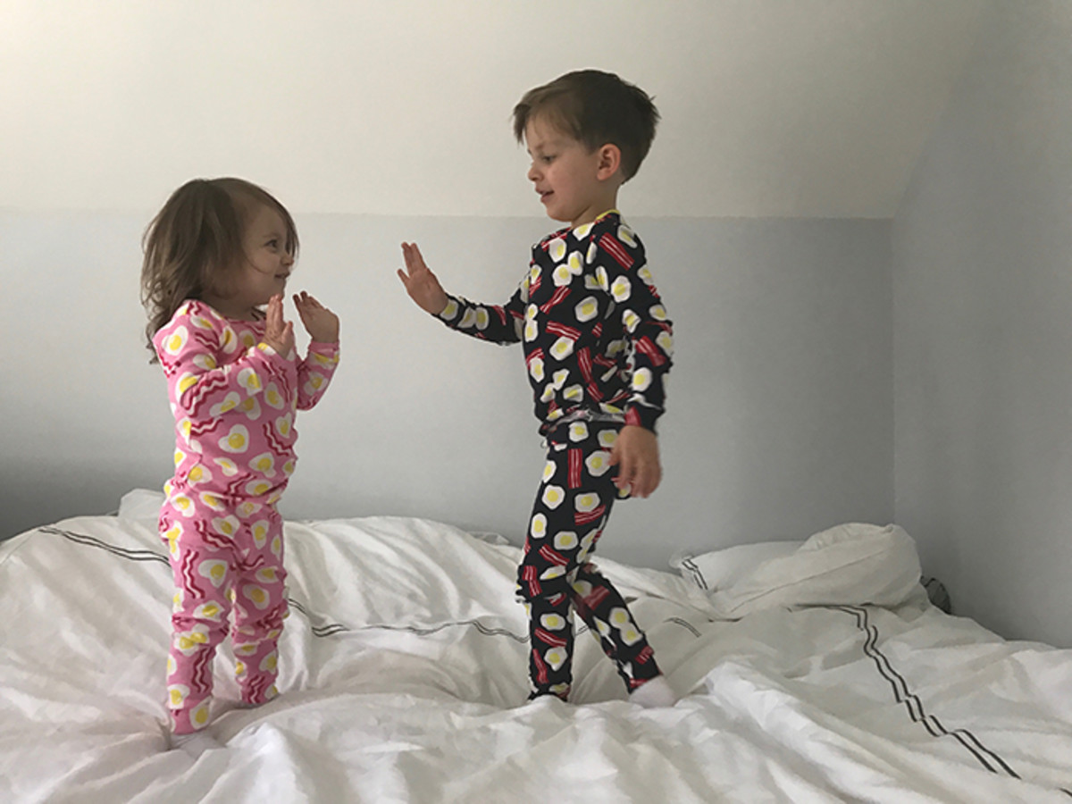 matching pajamas