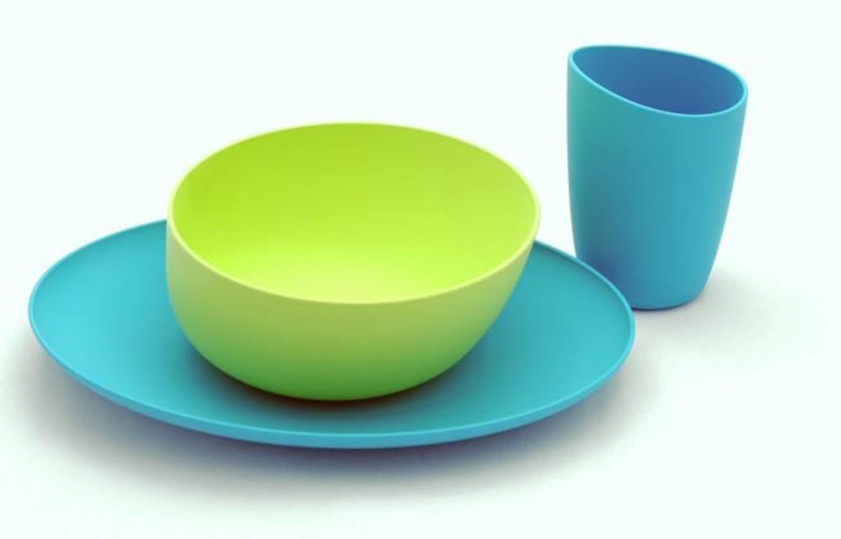 Fantastic Anti-Plastic Dishes from zoe b - MomTrendsMomTrends