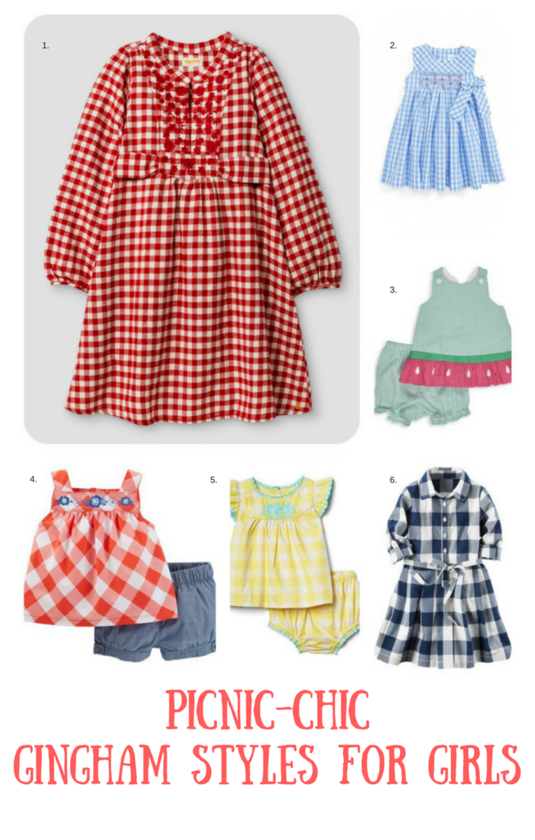 Gingham Styles For Toddlers To Wear All Throughout Springmomtrends