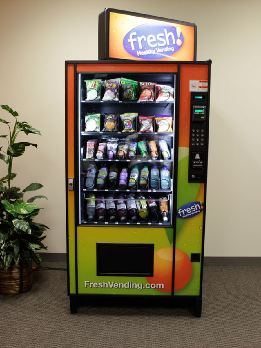 healthy food in vending machines at school Almost never provide healthy foods the school food environment includes the usda's breakfast and lunch options as well as vending machines, school snack bars changing the types of food in vending machines can have a positive effect on a student's food choices.