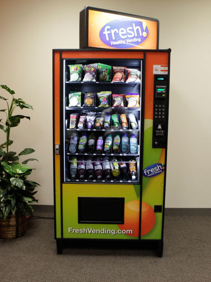 Natural Food Vending Machines