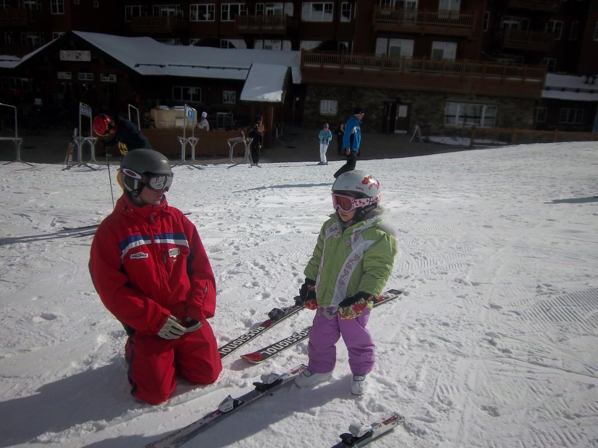 ski instructors