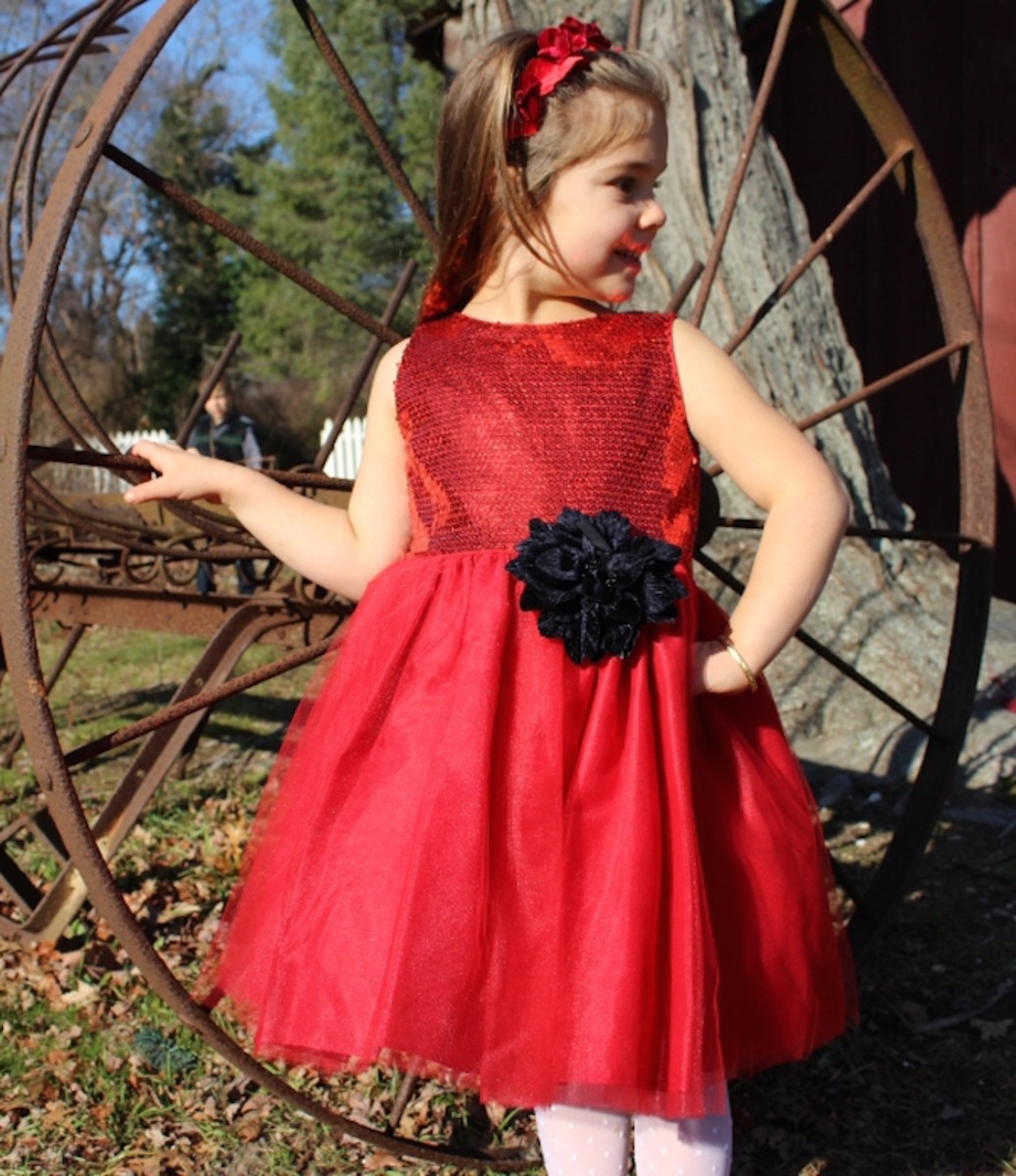 chasing fireflies, tulle dress, girls dress, holiday dress