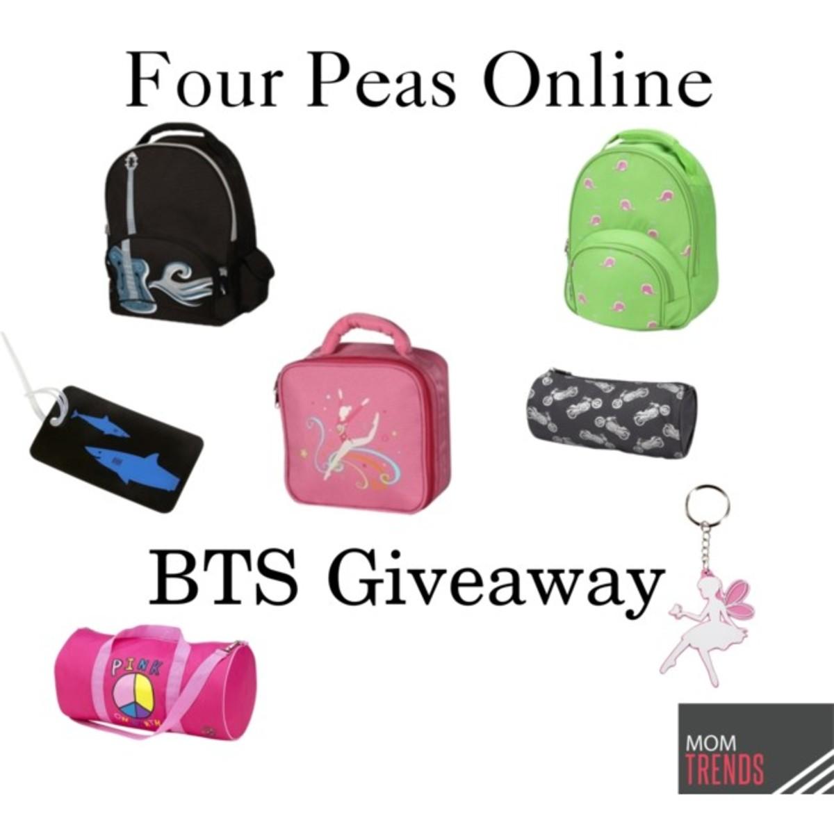 BTS four peas online