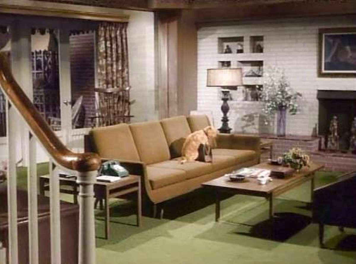Darren & Samantha's Living Room, Bewitched