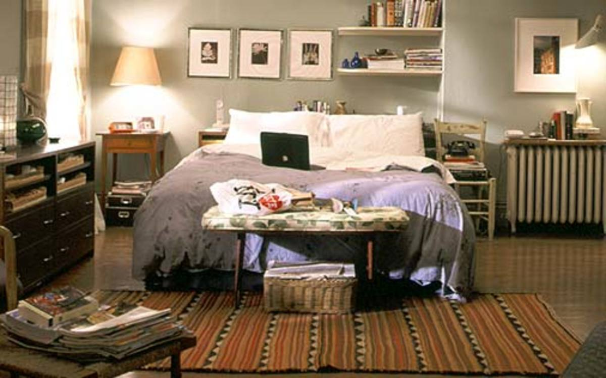 Carrie's Bedroom in Sex & The City.  You know you're a fan!