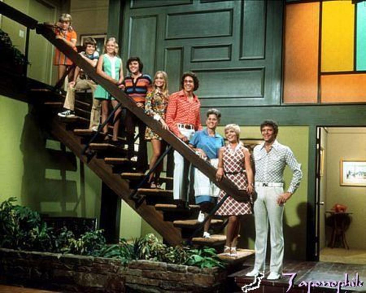 Marcia Marcia Marcia! The Brady Bunch's 70's abode