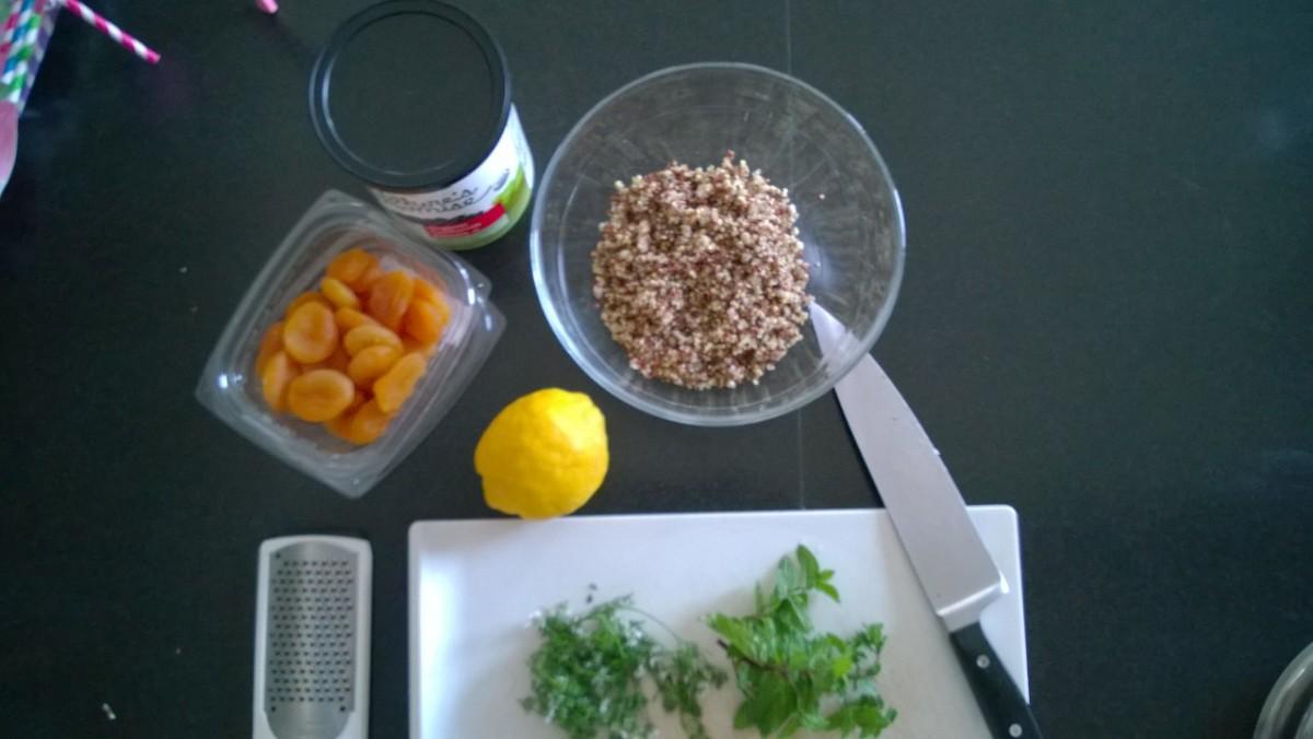 easy fruit quinoa recipe