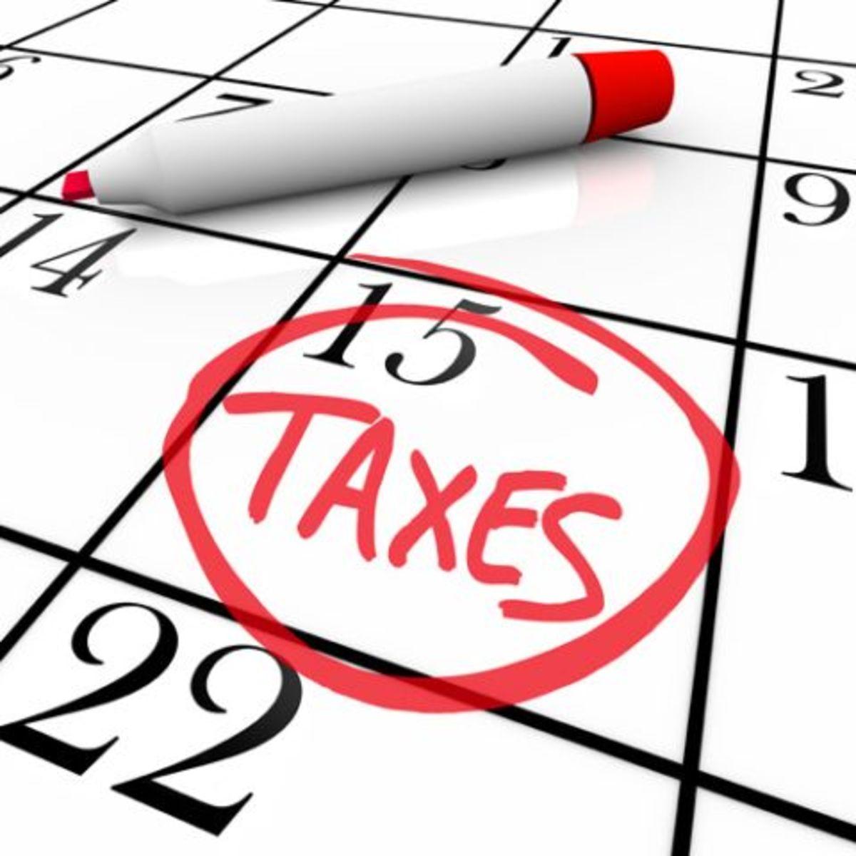 Tax Season Clip Art