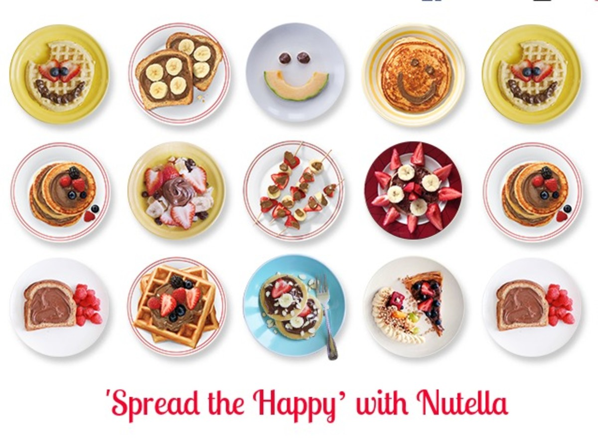 Spread the Happy' with Nutella