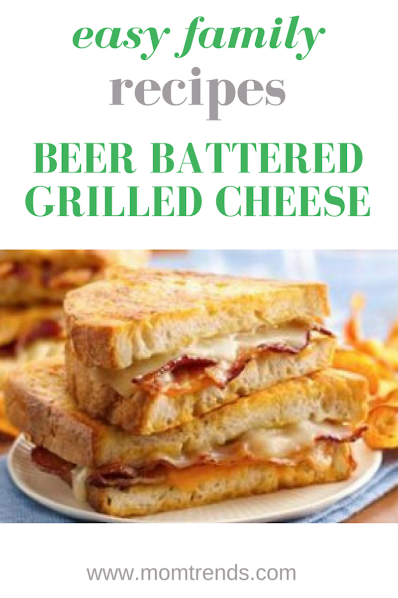 Beer Battered Grilled Cheese