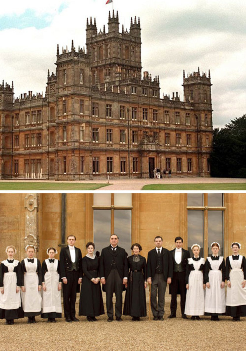 Downton abbey style at home momtrendsmomtrends for Downton abbey tour tickets