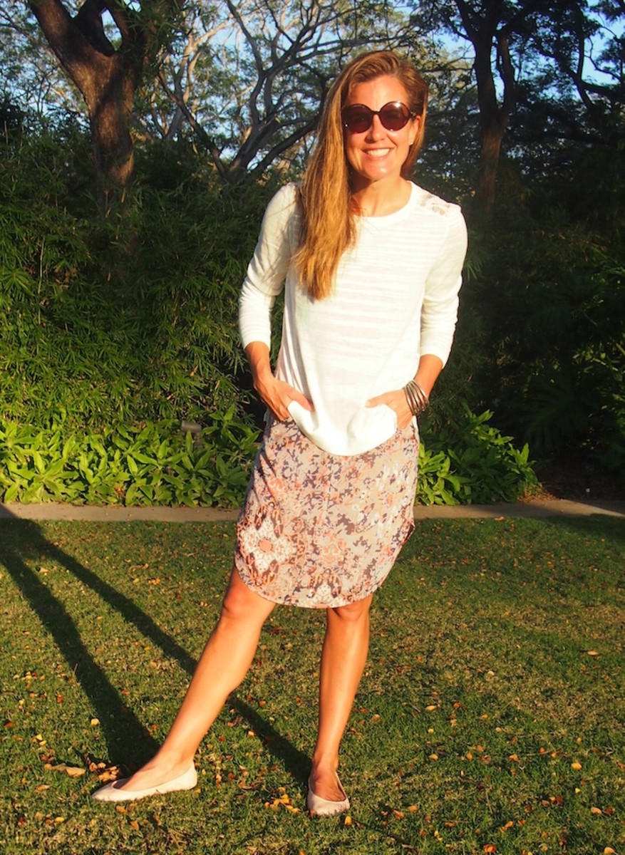 how to style an outfit for spring