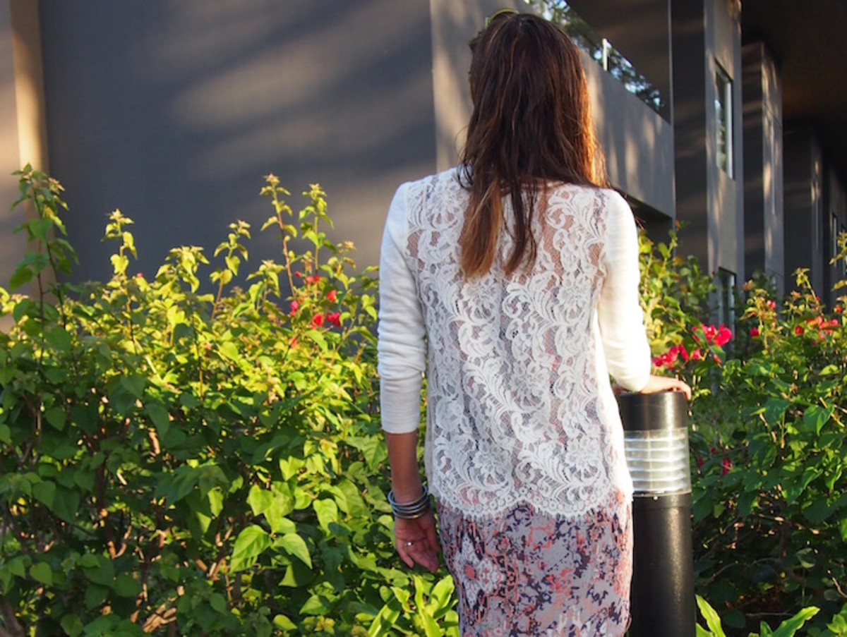 perfect white sweater