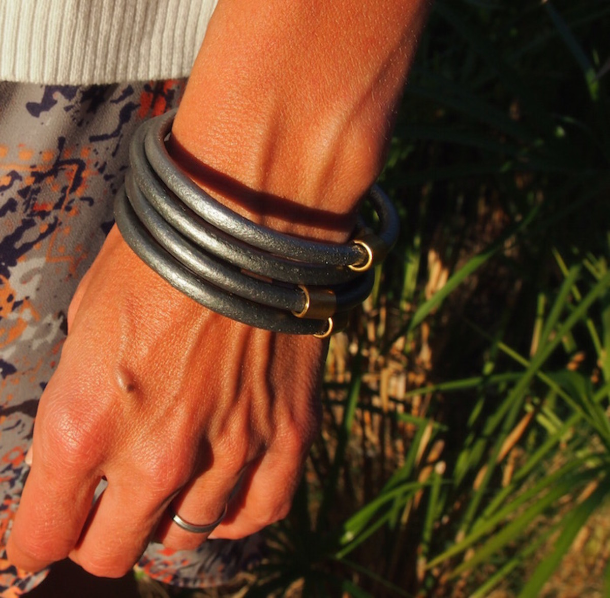 leather bracelet from costa rica