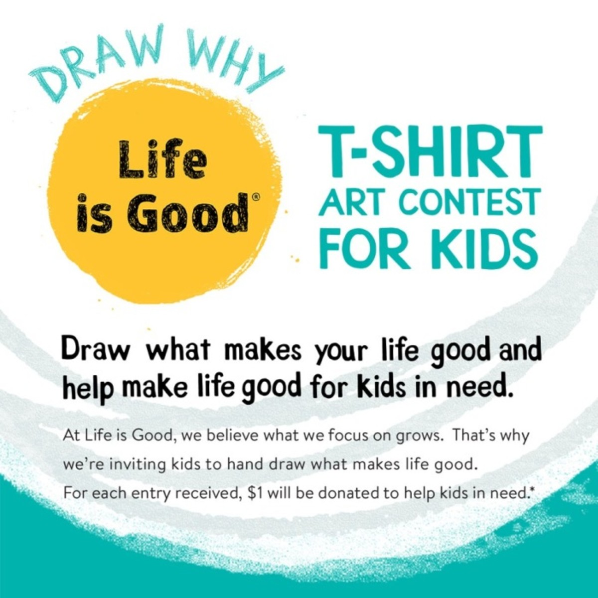life is good art contest
