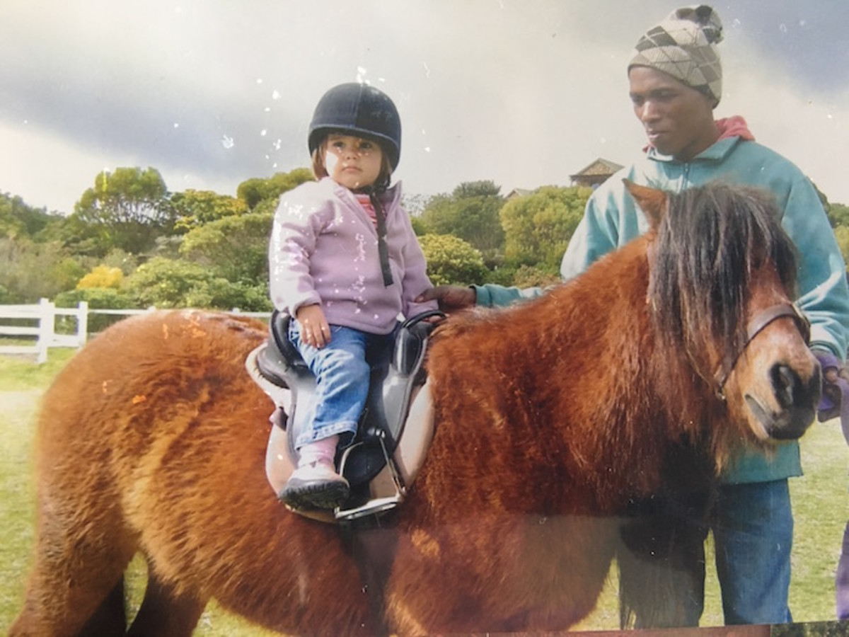 pony rides at grootbos