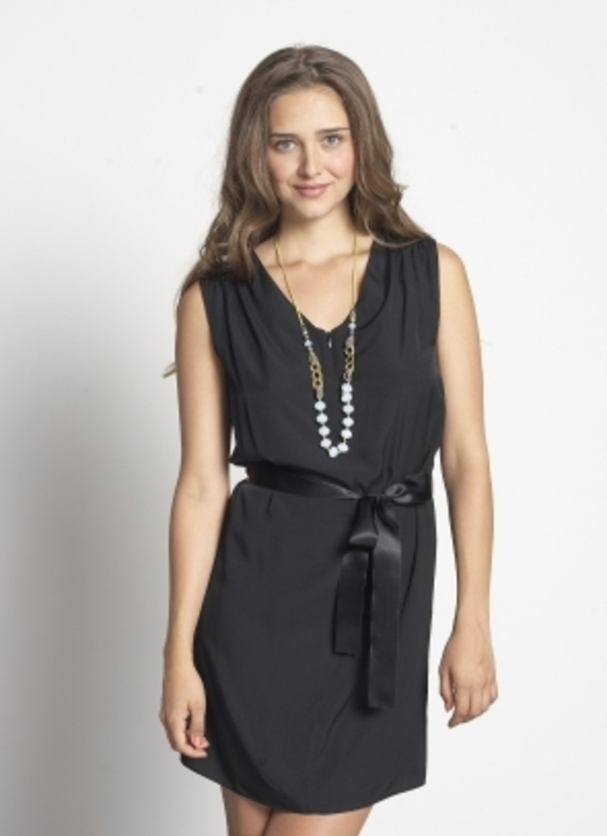 Tyvette Tie Dress