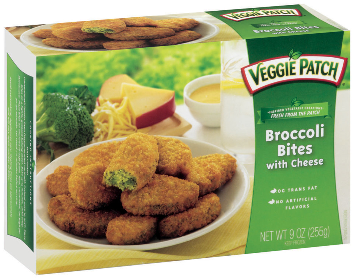 Veggie Patch_Broccoli Bites with Cheese_Frozen SIDE