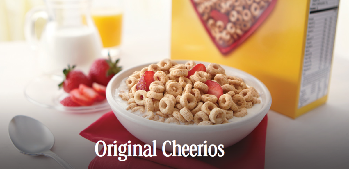 Staying Energized with Cheerios
