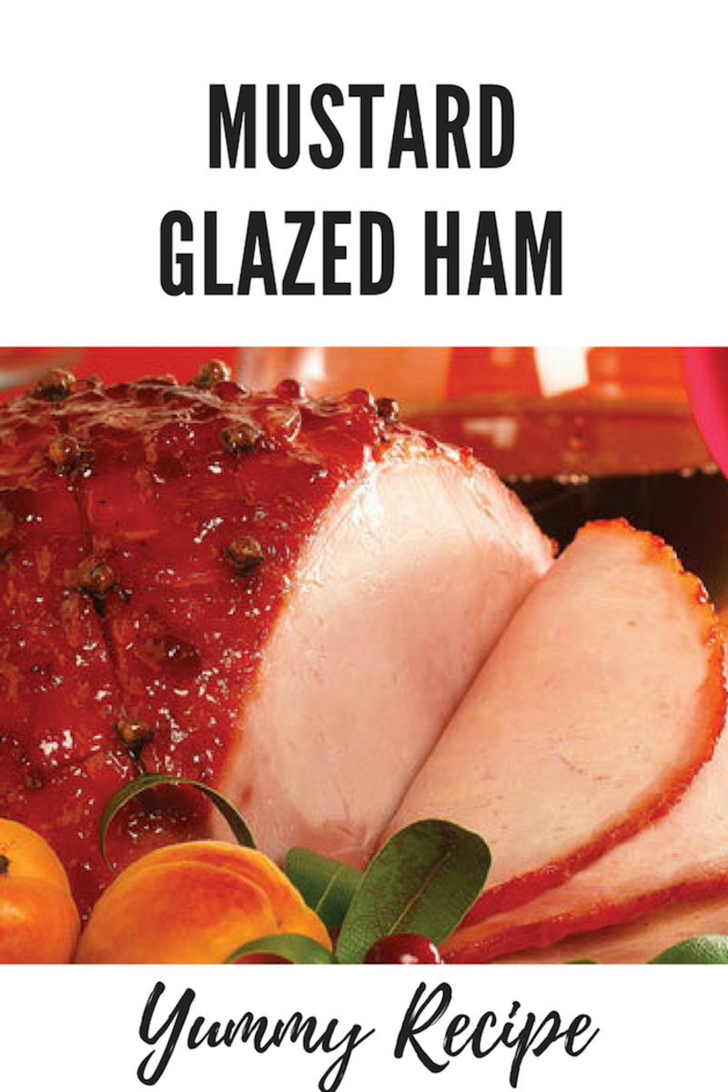 Easter Recipe: Mustard Glazed Ham