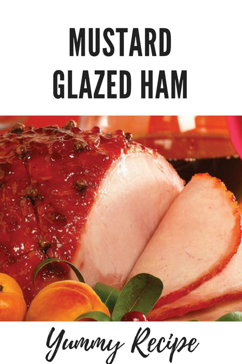 Easter Recipe: Mustard Glazed Ham