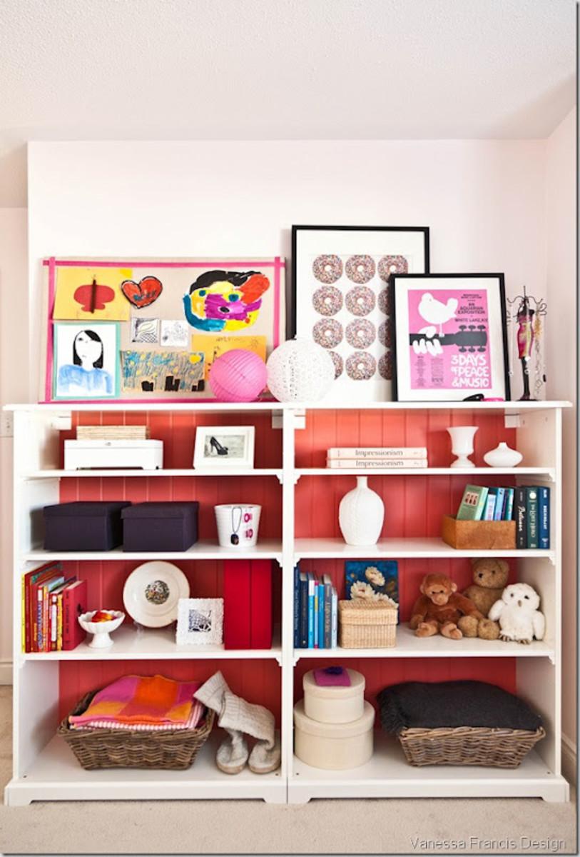 decor happy bookcase