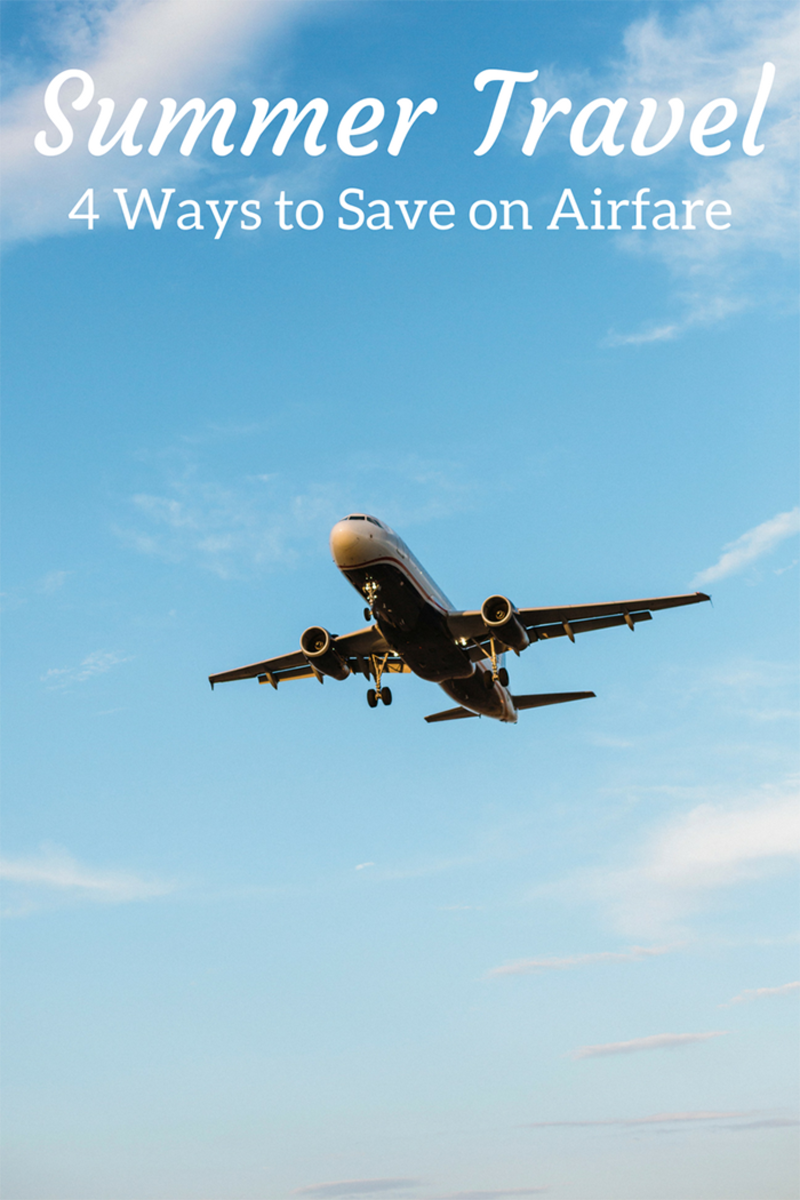 Summer Travel_4 Ways to Save on Airfare