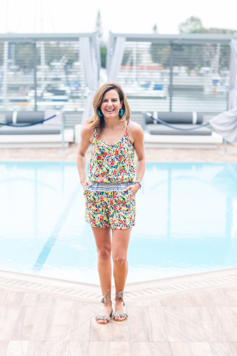 How to Style a Romper: summer fashion tips