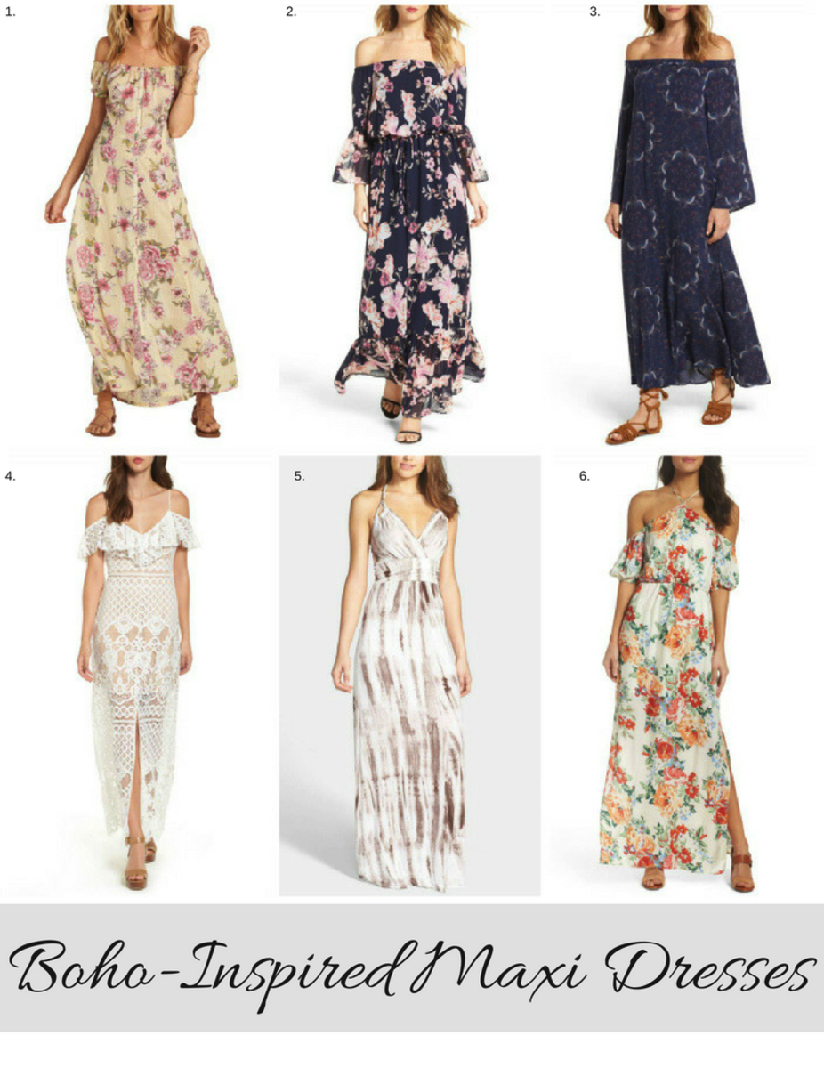 Bohemian Chic Maxi Dresses To Live In All Summer Long