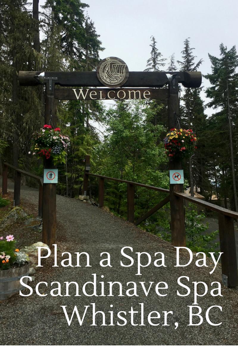Scandinave Spa Whistler BC