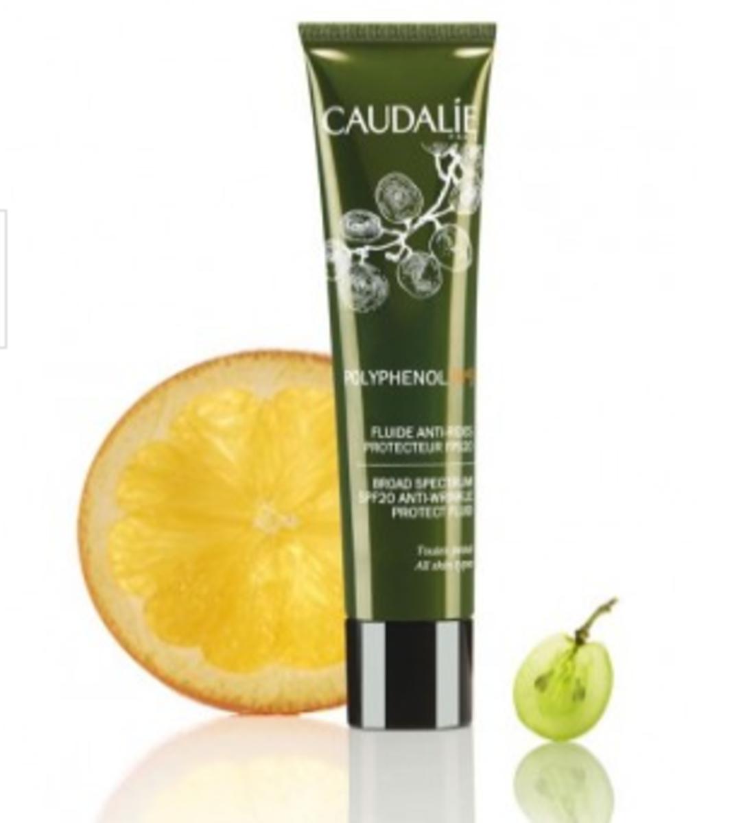 Caudalie Polyphenol c15 Broad Spectrum SPF 20 Anti-Wrinkle Protect Fluid