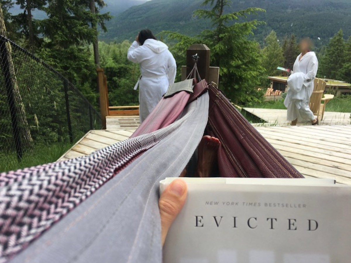 Hammock Haven Scandinave Spa