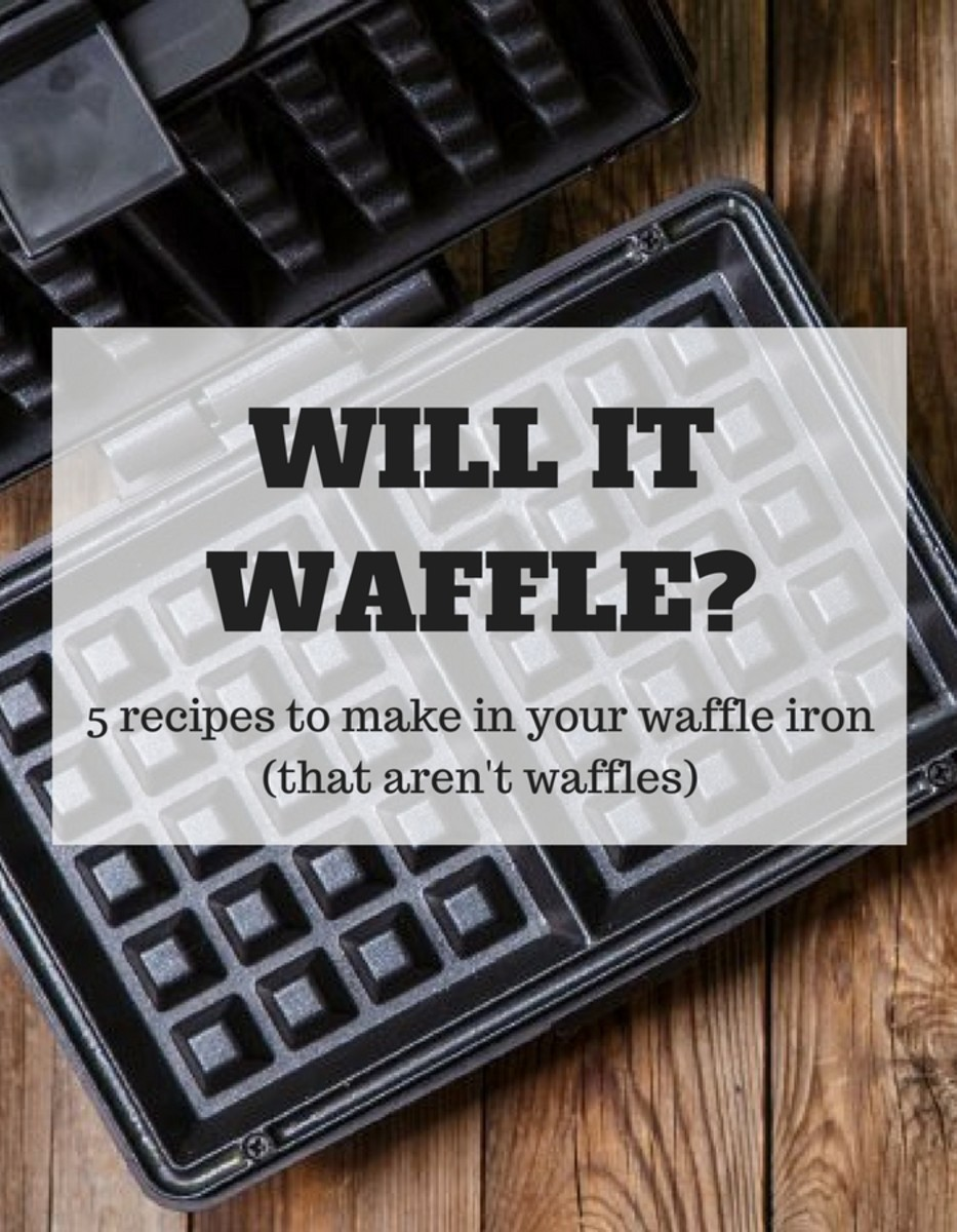 Will It Waffle - Waffle iron recipes