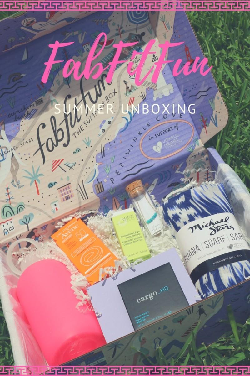 summer fabfitfun box