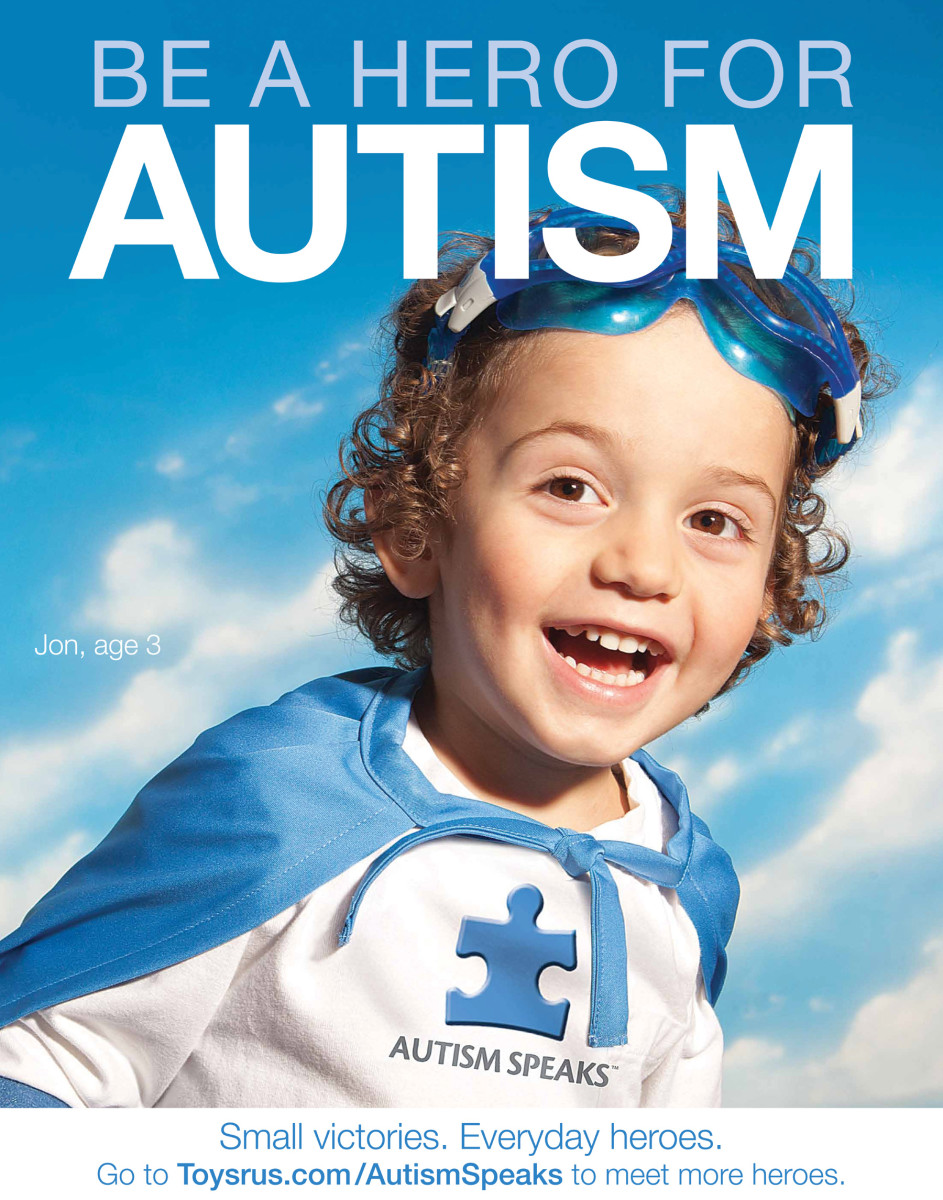 Autism Speaks Sign 4