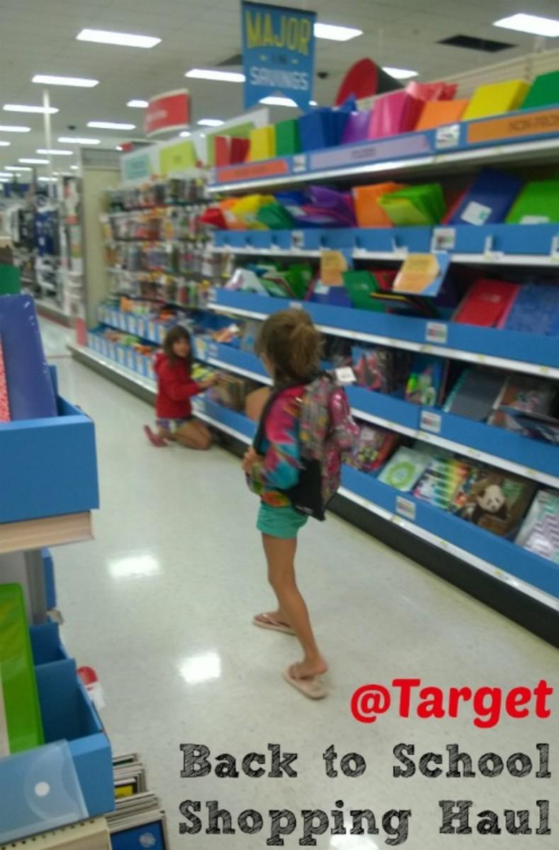 Back to School Shopping Haul