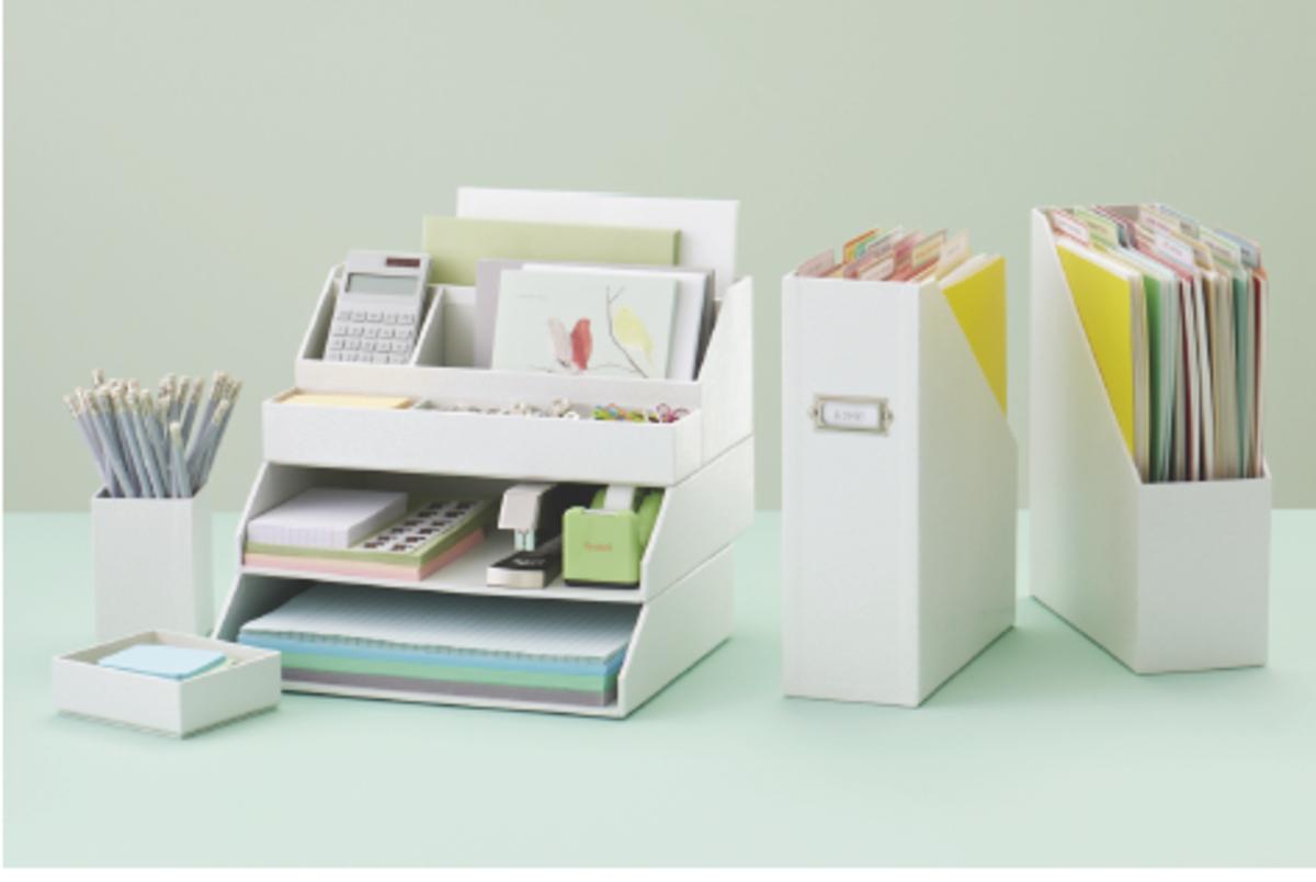 Martha Stewart Office Desk Organization Giveaway - MomTrends