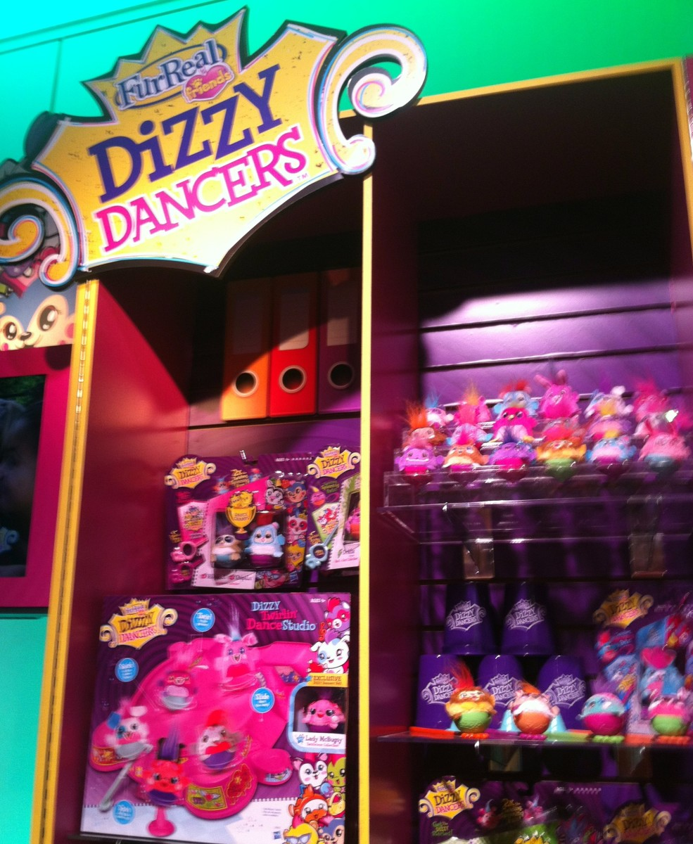 Dizzy Dancers arrive in stores March 3