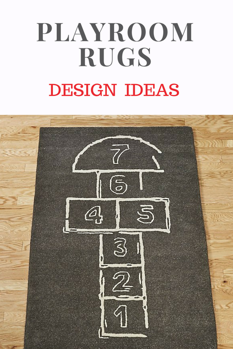 Cool Rugs for a Playroom: Design ideas for you kid spaces