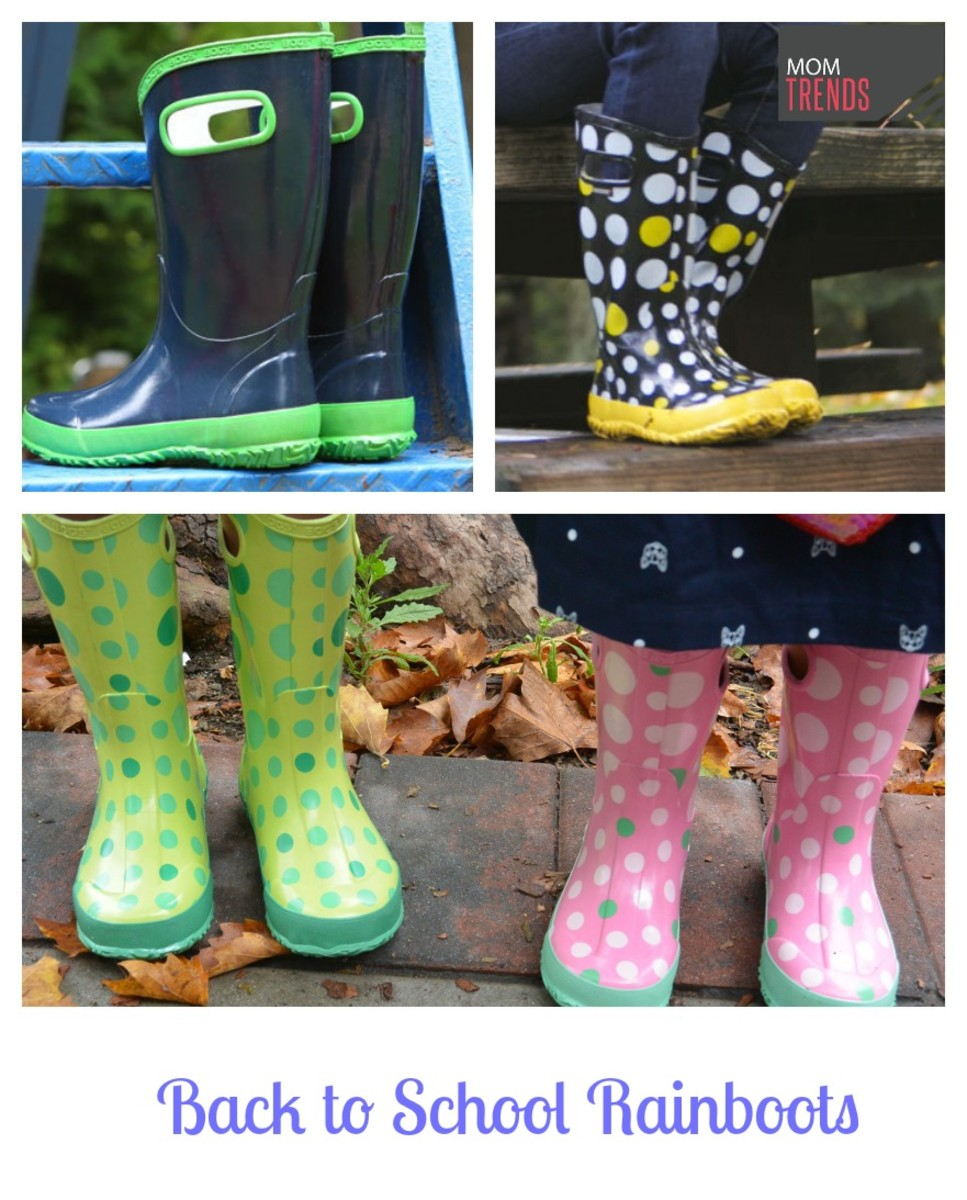 Back to SChool Rainboots