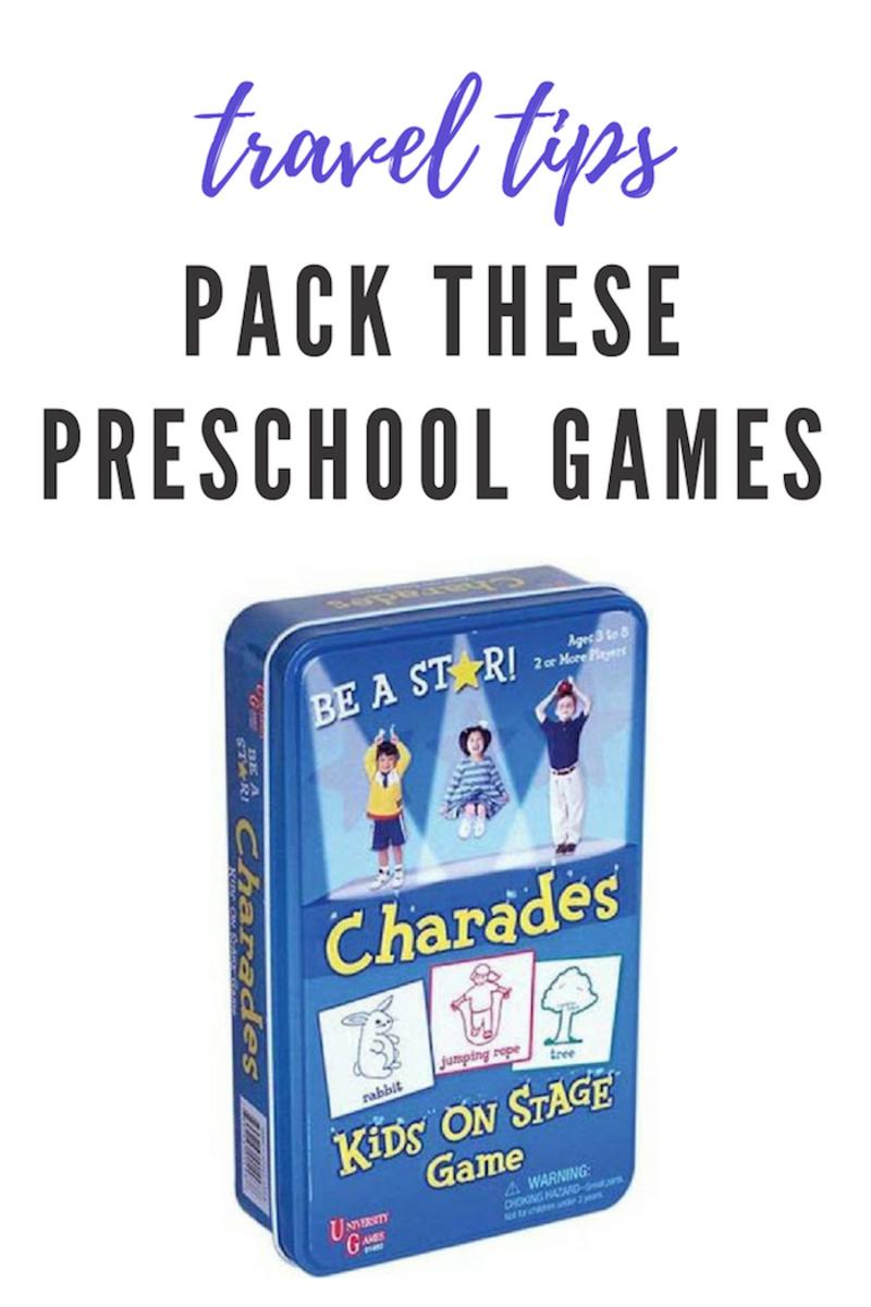 Pack These Preschool Games