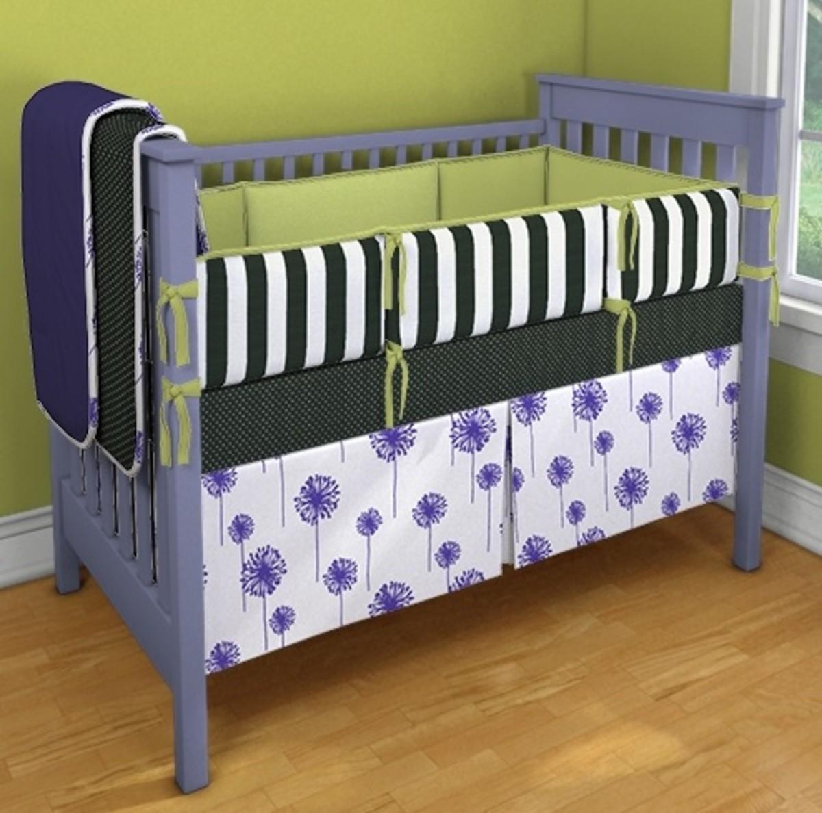 DIY Design for Nursery Bedding - MomTrendsMomTrends