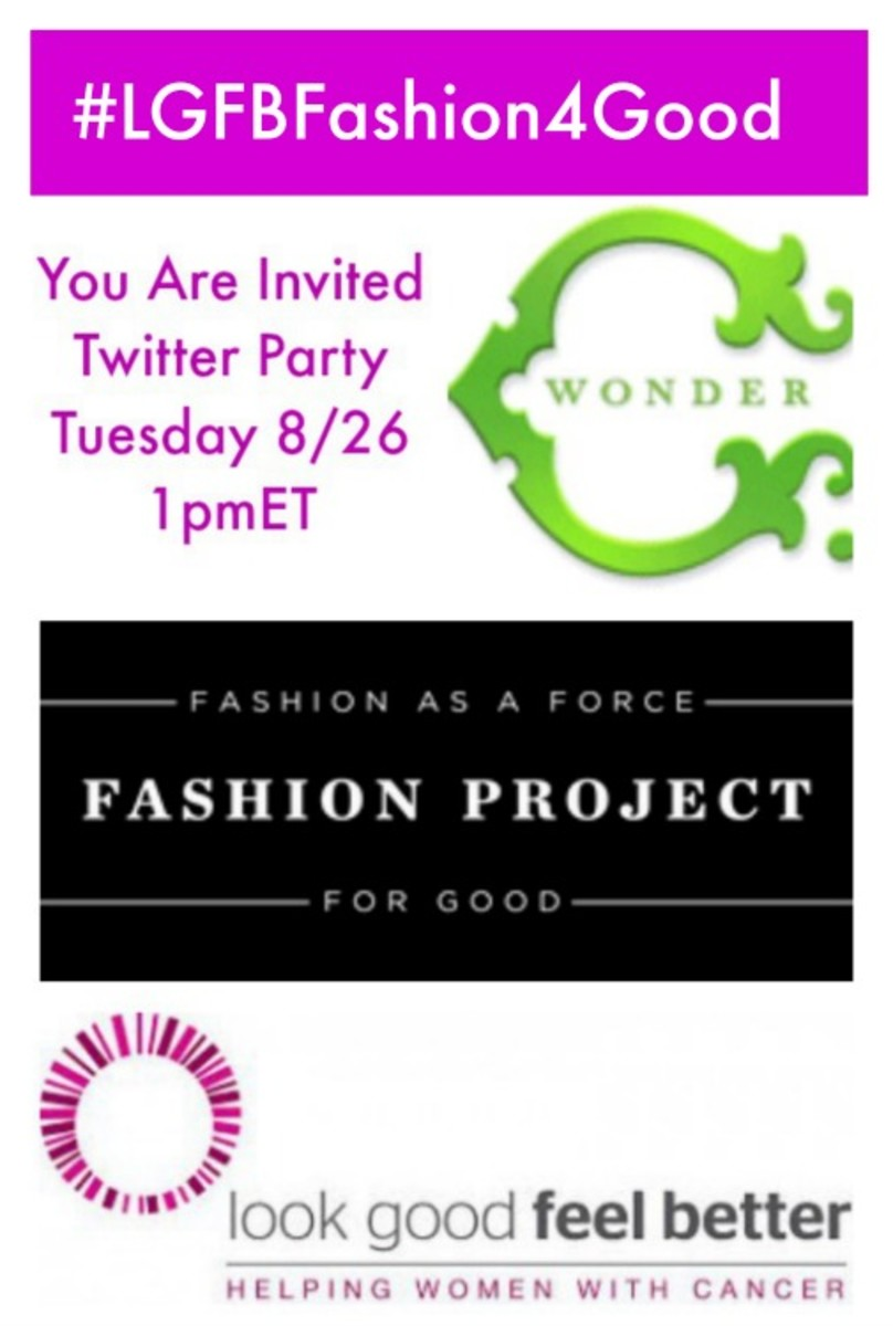 #LGFBFashion4Good twitter party