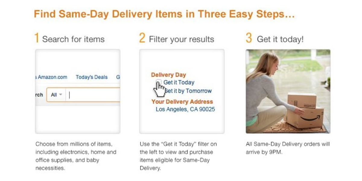 Amazon.com Same Day