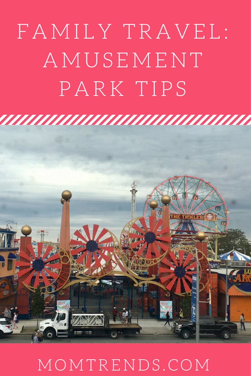 Family Travel: Amusement Park Tips