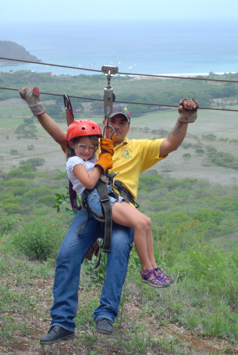 da flying frog, zip line tours,