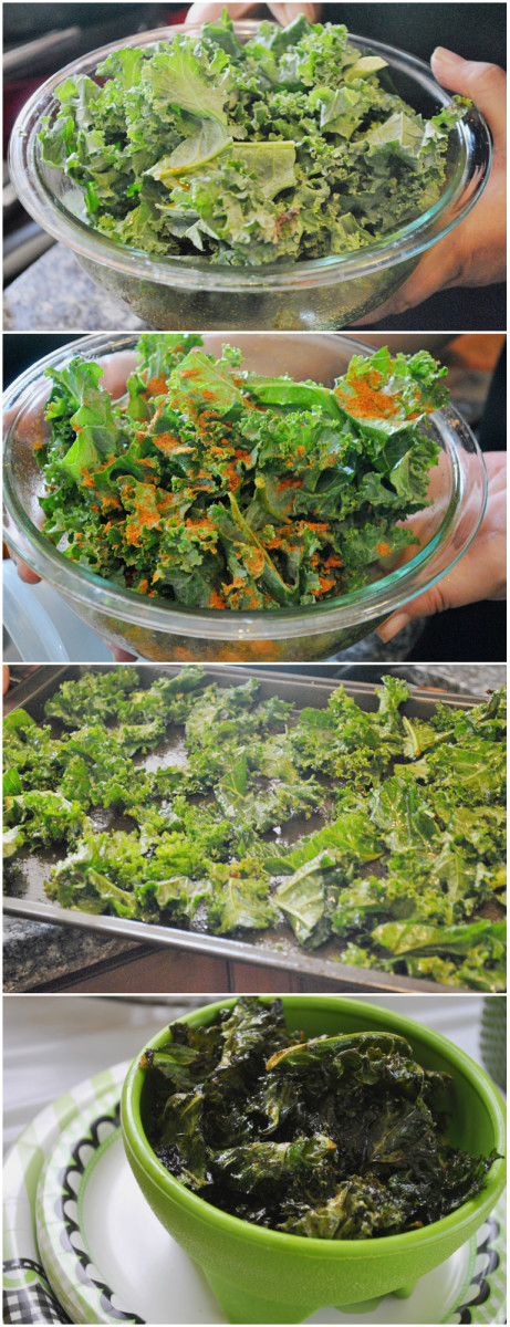 Kale Chips Recipes