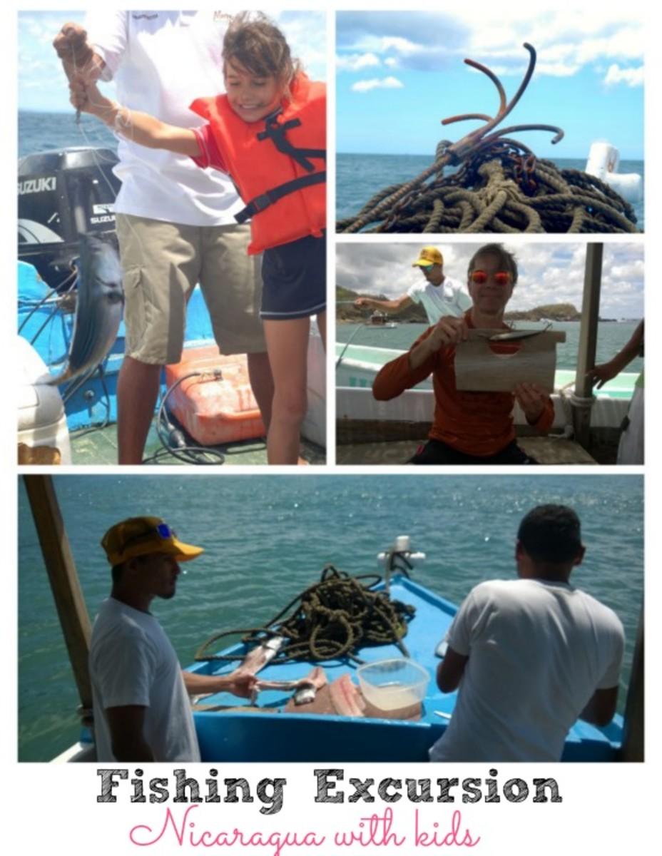 fishing excursion Nicaragua with kids, morgan's rock nicaragua