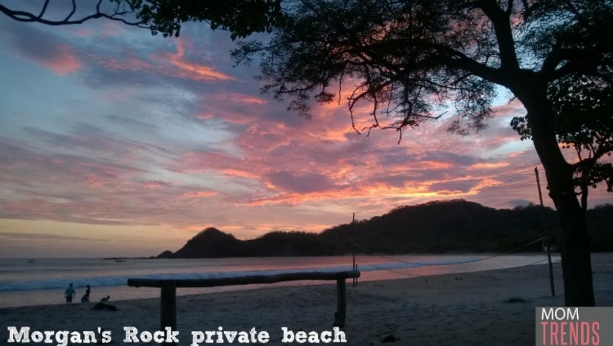 Sunset Morgan's Rock Beach Nicaragua